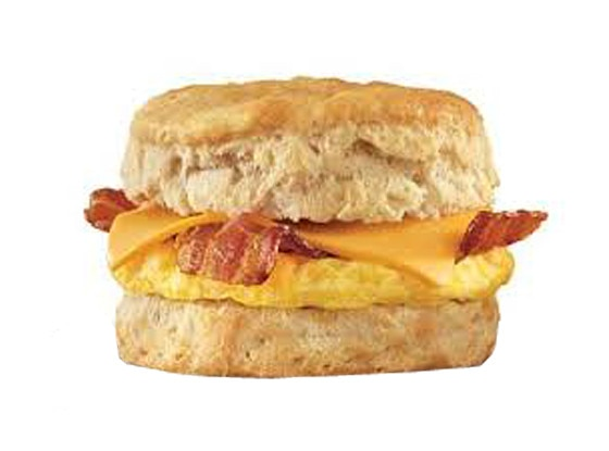 420 Foods, Arbys Breakfast Ham, Egg & Cheese Biscuit