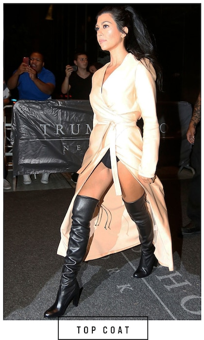 ESC, 5 Days 5 Ways Boots Kourtney Kardashian
