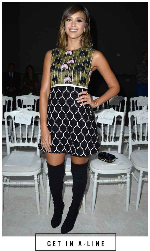 ESC, 5 Days 5 Ways Boots Jessica Alba, Paris Fashion Week