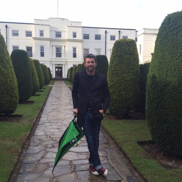 Patrick Dempsey Shooting on Location in England for Bridget Jones' Baby