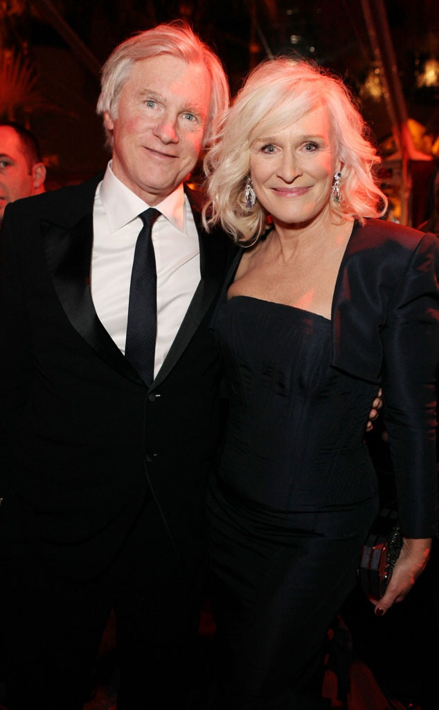 Glenn Close, David Shaw