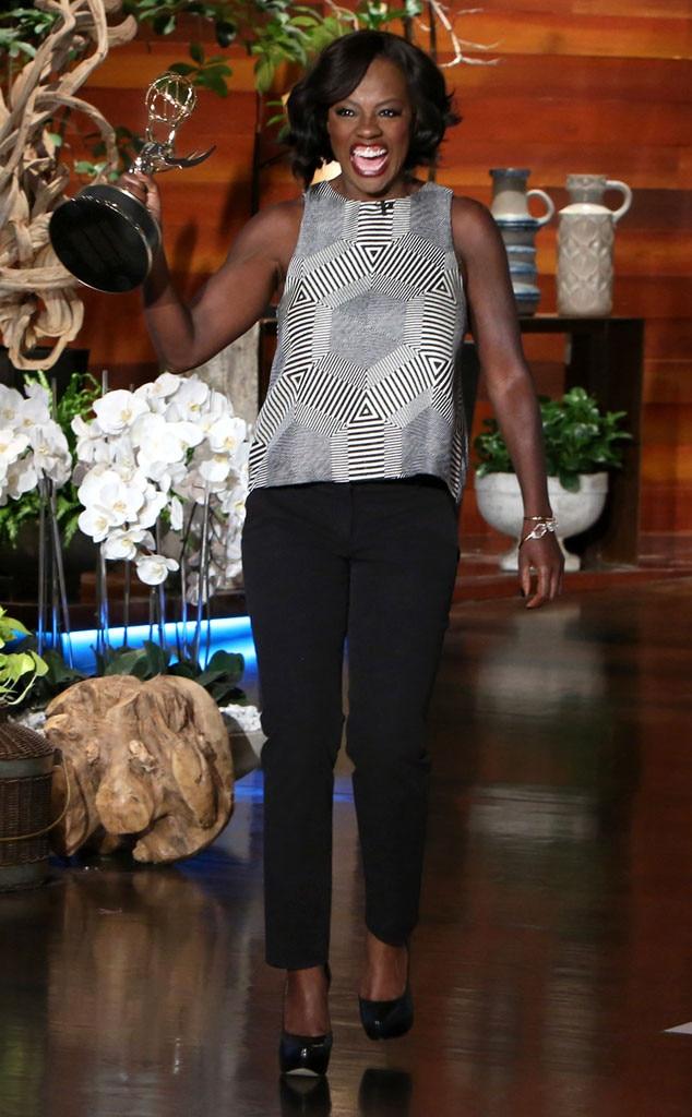 Viola Davis, Ellen DeGeneres Show