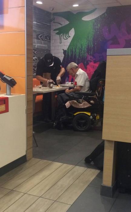 McDonald's Man