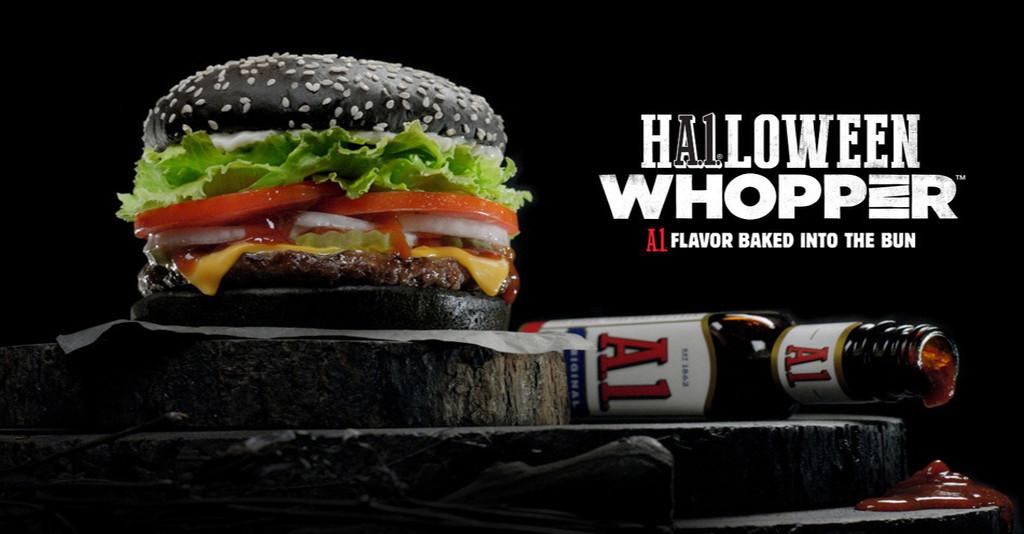 Burger King Halloween Whopper
