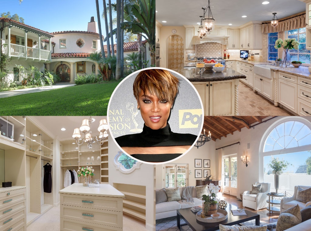 Tyra Banks, Lists Home