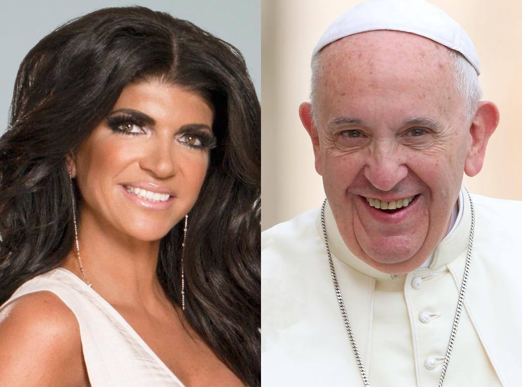 Teresa Giudice, Pope Francis