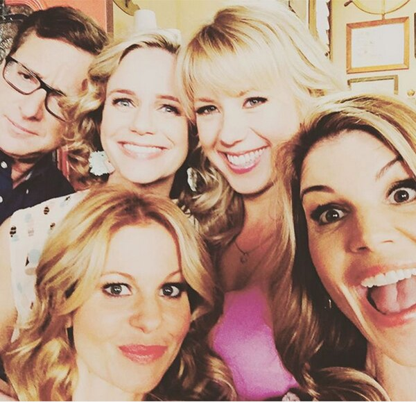Bob Saget, Andrea Barber, Jodie Sweetin, Candace Cameron Bure, Fuller House Cast