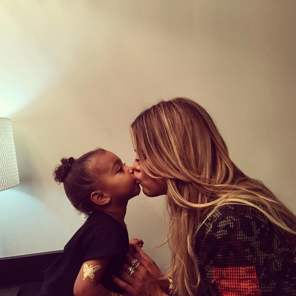 North West, Khloé Kardashian