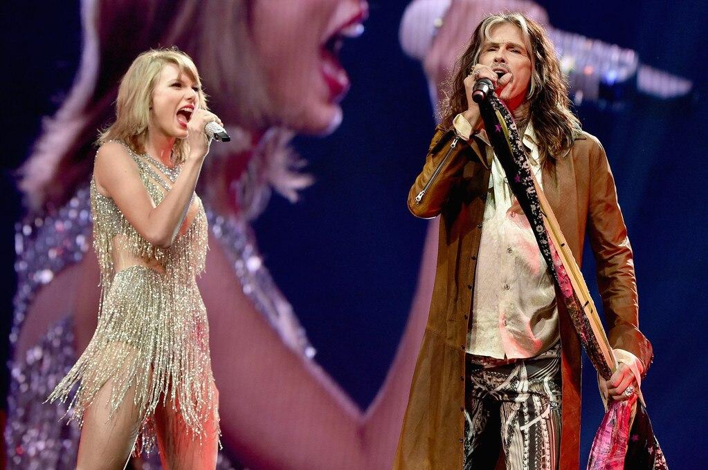 Taylor Swift Concert, Steven Tyler
