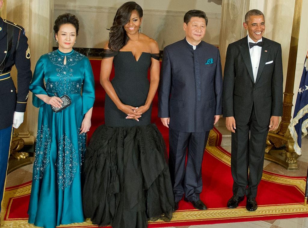 Xi Jinping, Peng Liyuan, Michelle Obama, President Barack Obama