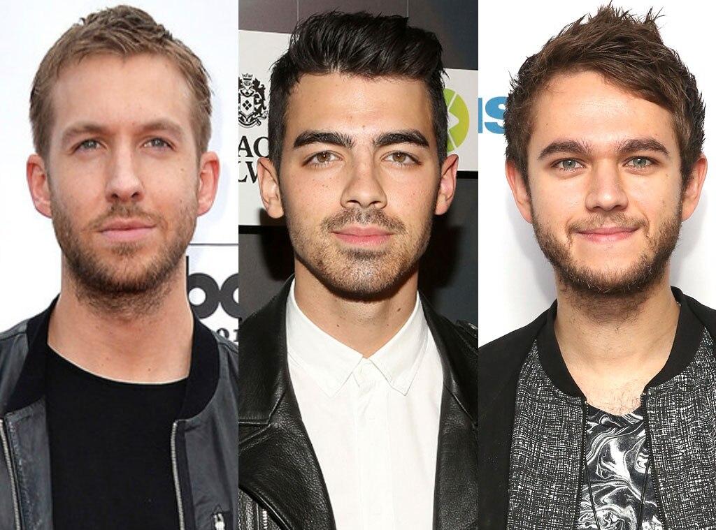 Calvin Harris, Joe Jonas, Zedd, DJ's