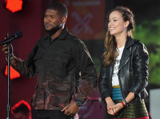 Usher, Olivia Wilde