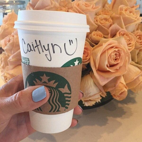 Caitlyn Jenner, Starbucks Cup