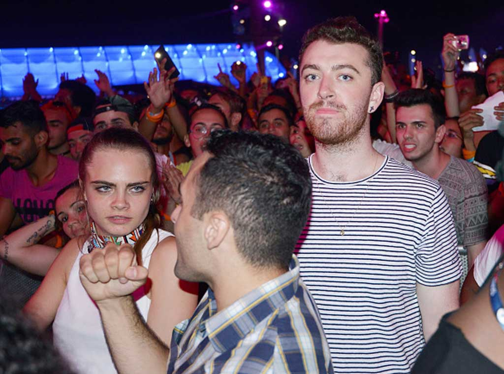 Cara Delevingne, Sam Smith