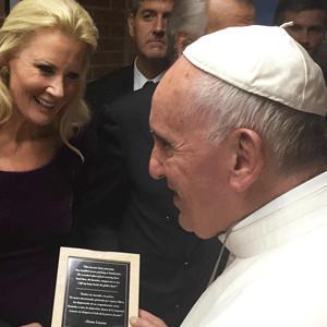 Sandra Lee, Pope Francis