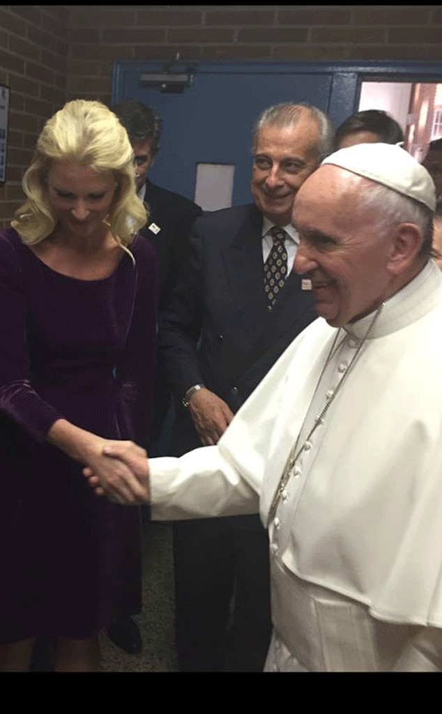 Sandra Lee, Pope Francis