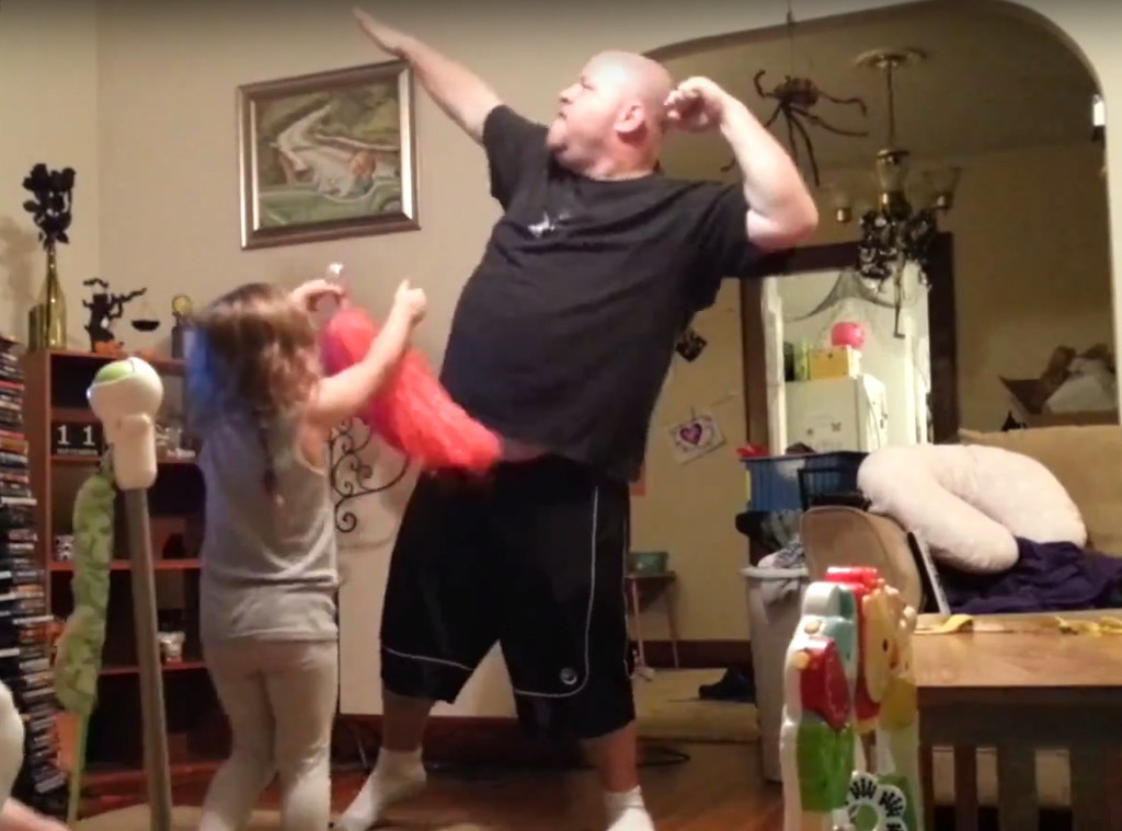 Dad, Hidden Camera, Dance Moves