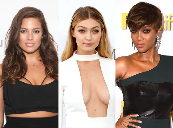 Ashley Graham, Gigi Hadid, Tyra Banks