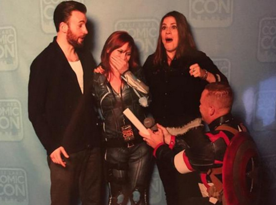 Chris Evans, Hayley Atwell, Fan Proposal