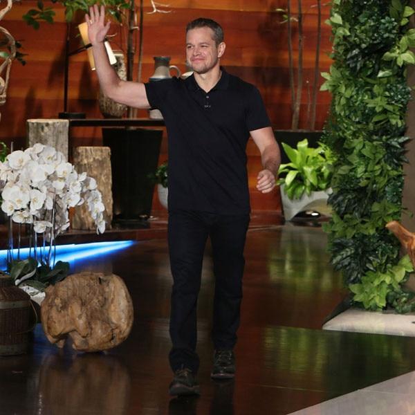 Matt Damon, Ellen DeGeneres