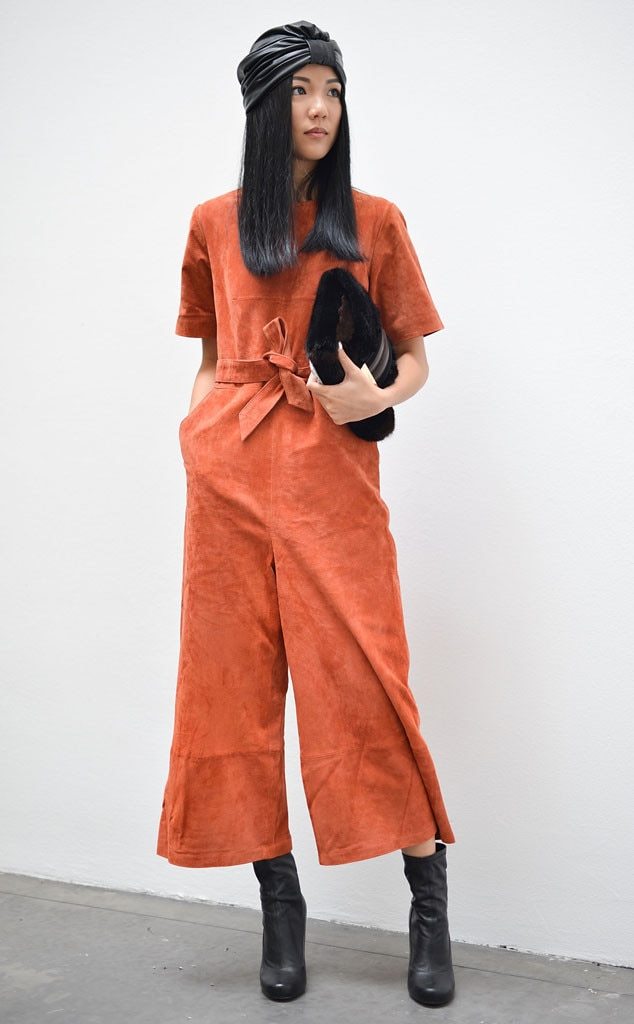 Yoyo Cao From Street Style At Milan Fashion Week Spring 2016 E News
