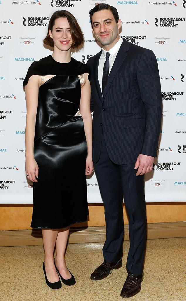 Rebecca with her husband Morgan