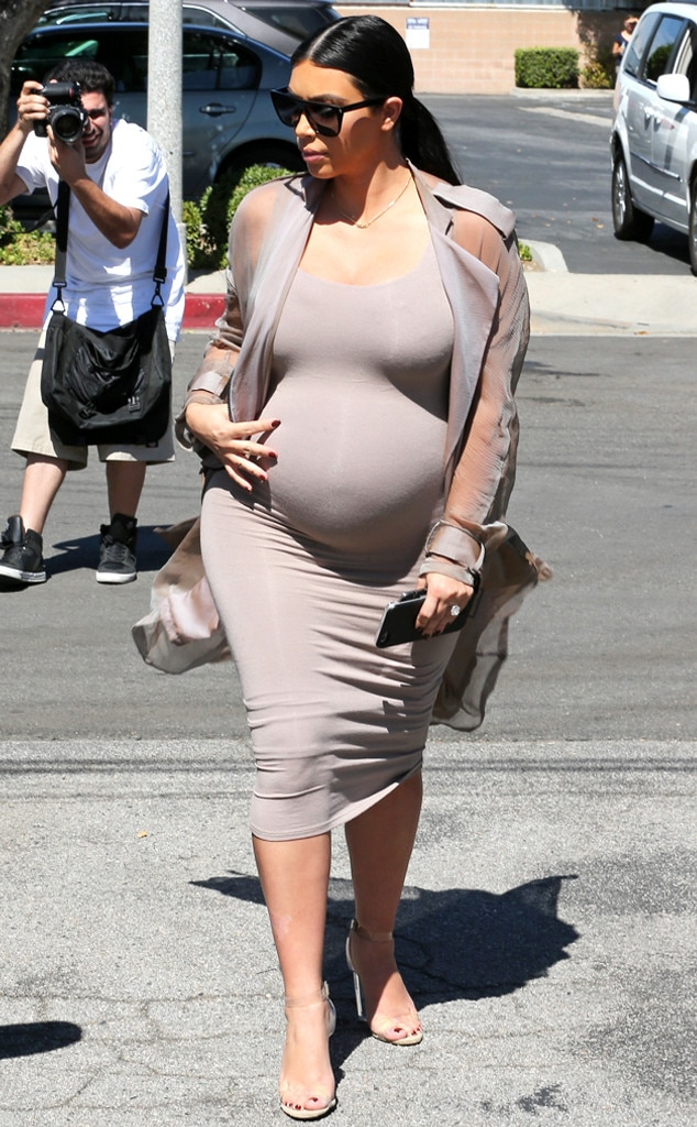 Kim Kardashian's Due Date Revealed! Find Out When She's ...