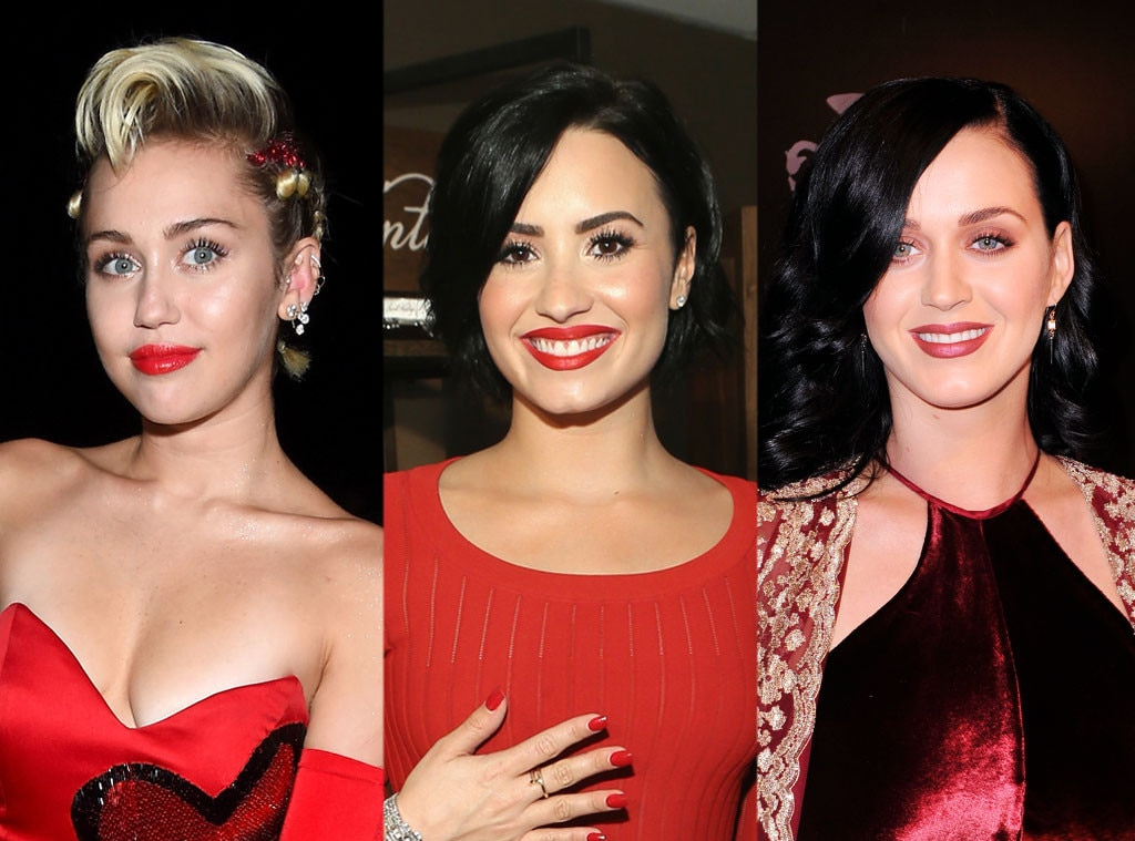 Rs Miley Demi Katy Cyrus Lovato Perry   Guess  Plastic Surgery
