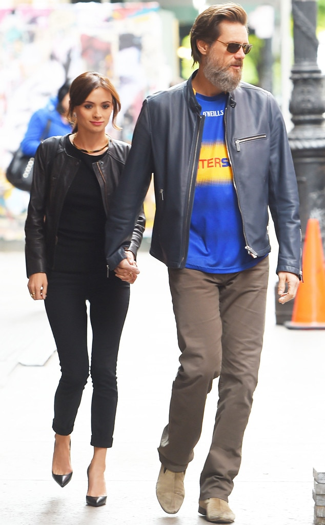 Jim Carrey, Cathriona White