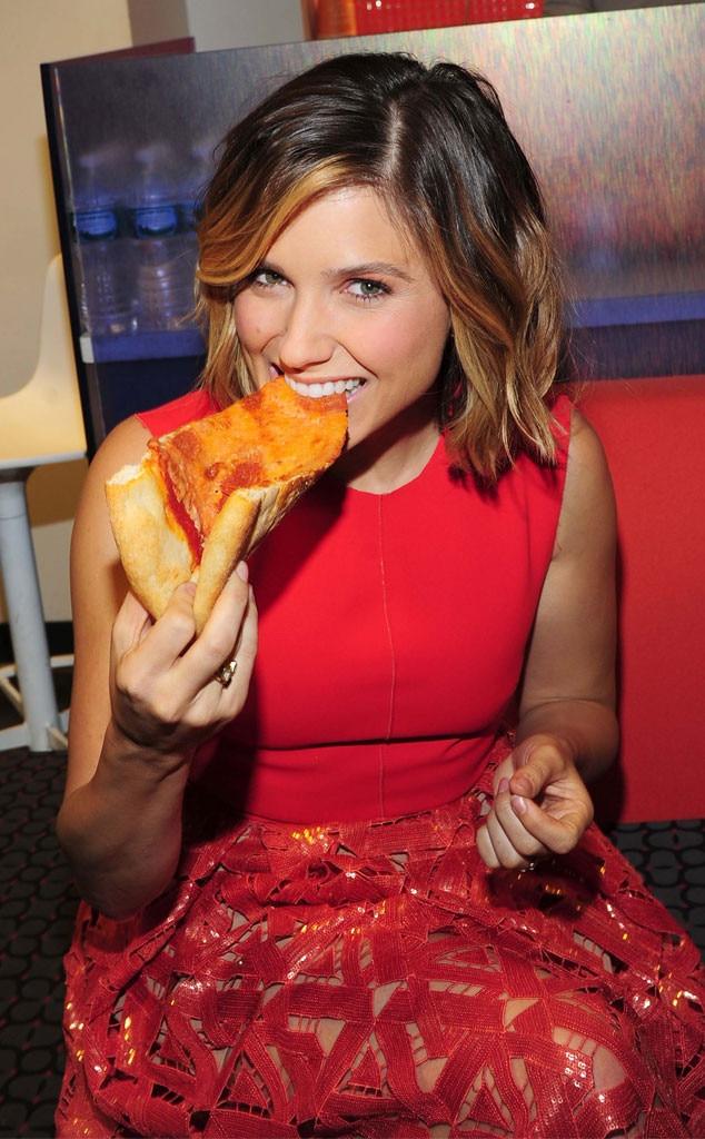 Celebrities Eating Pizza