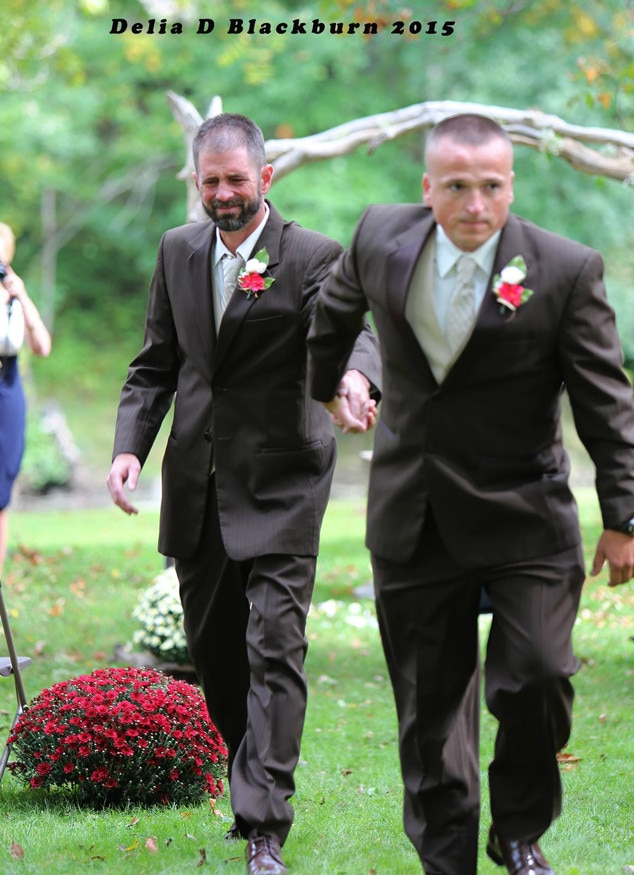 Dad Step At Daughters Wedding