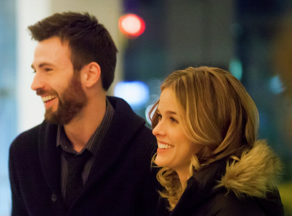 Alice Eve, Chris Evans, Before We Go
