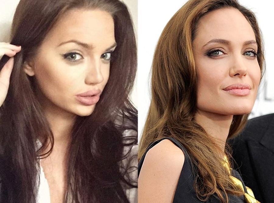 Chelsea Marr, Angelina Jolie