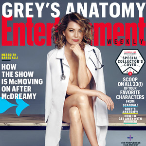 Ellen Pompeo, Greys Anatomy, EW Magazine