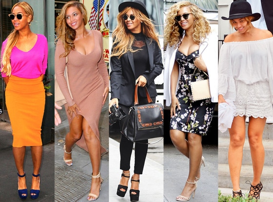 Beyonce, Street Style