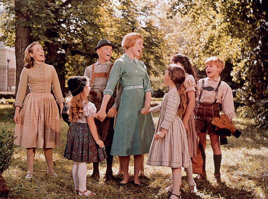 "Julie Andrews, ""Sound of Music"" movie still"