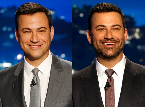 Jimmy Kimmel, Beard