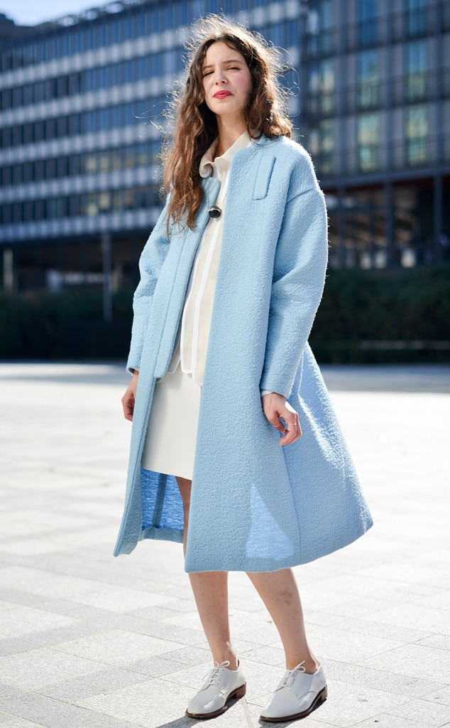 Helene Timsit From Street Style At Paris Fashion Week Spring 2016 E News