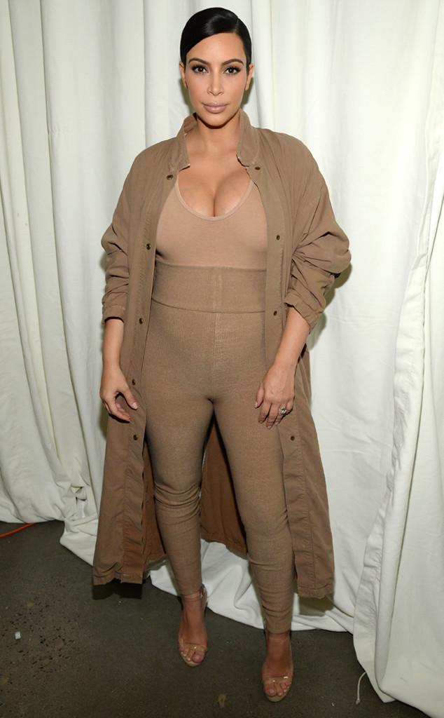 Kim Kardashian West, Yeezy, NYFW