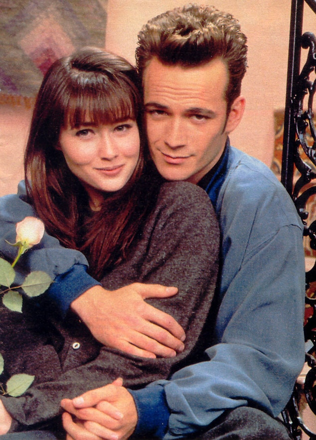 Shannen Doherty, Luke Perry, 90210 Couples