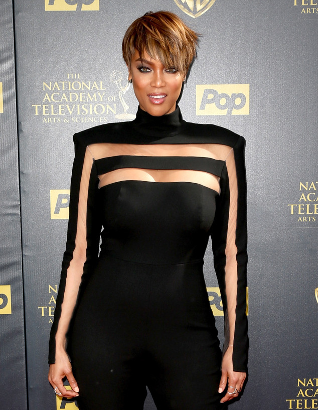 New Tyra Banks: Tyra Banks: Now From Supermodels: Then And Now