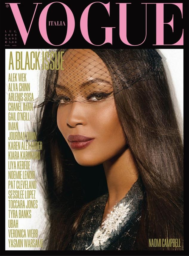 Naomi Campbell, Vogue Italia