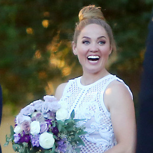 Erika Christensen, Cole Maness, Wedding