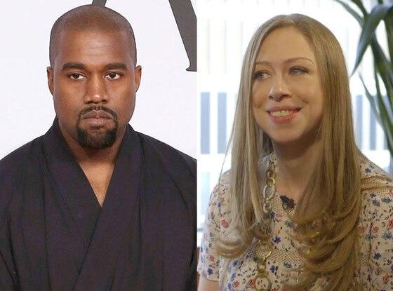 Kanye West, Chelsea Clinton