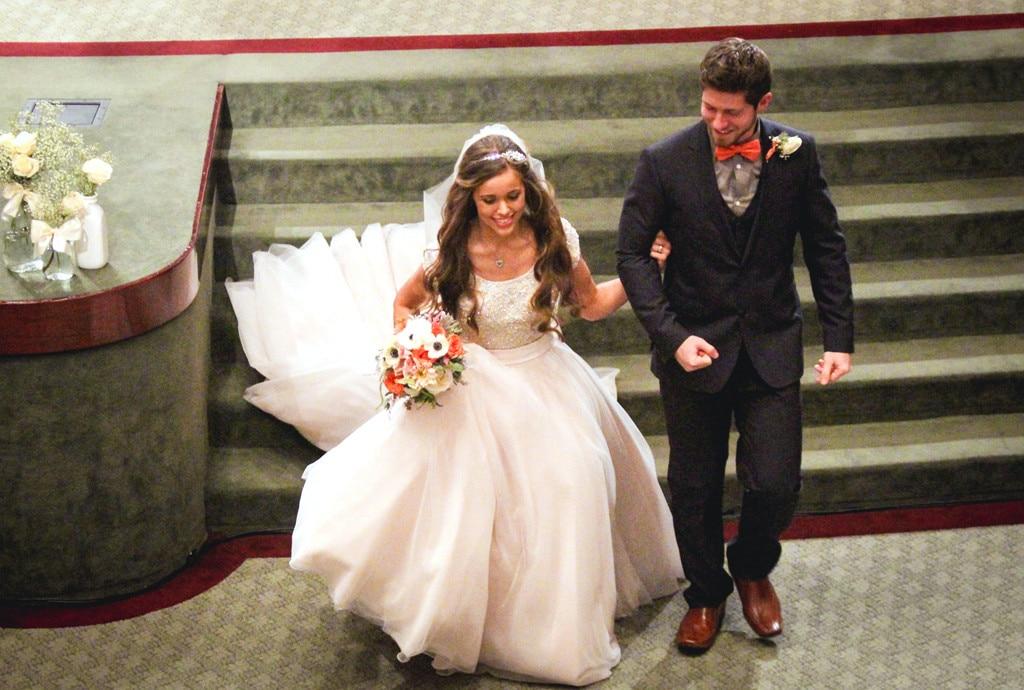 Jessa Duggar, Wedding