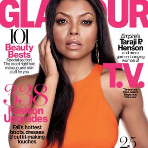 Taraji P. Henson, Gina Rodriguez, and Emma Roberts, Glamour Magazine