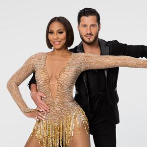 Tamar Braxton, Valentin Chmerkovskiy, Dancing with the Stars