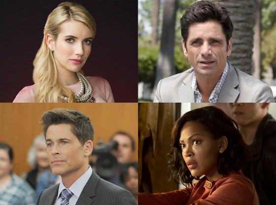 FOX TV, Scream Queens, Grandfathered, Minority Report, The Grinder