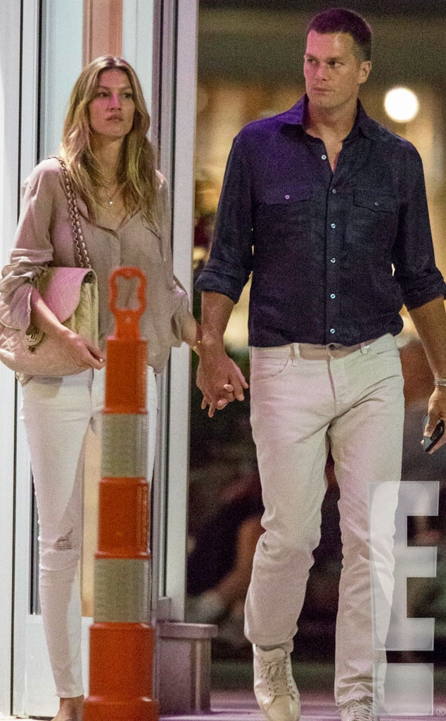 Tom Brady, Gisele Bundchen, Exclusive