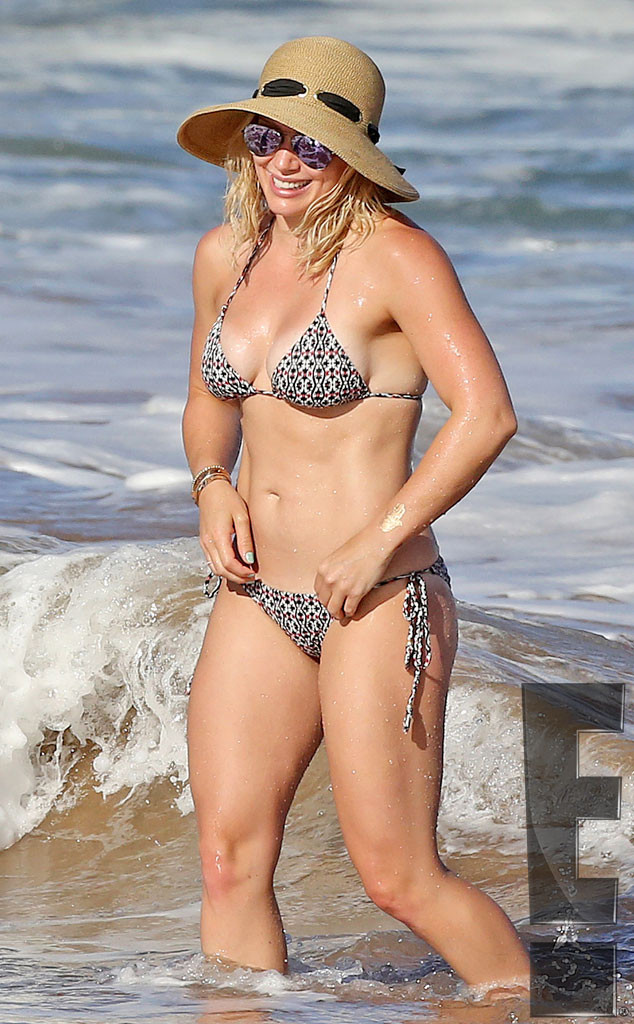 Exclusive, Hilary Duff, Bikini
